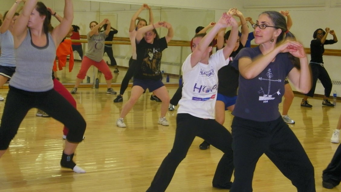 Wellness Recreation Offering Group Exercise Instructor