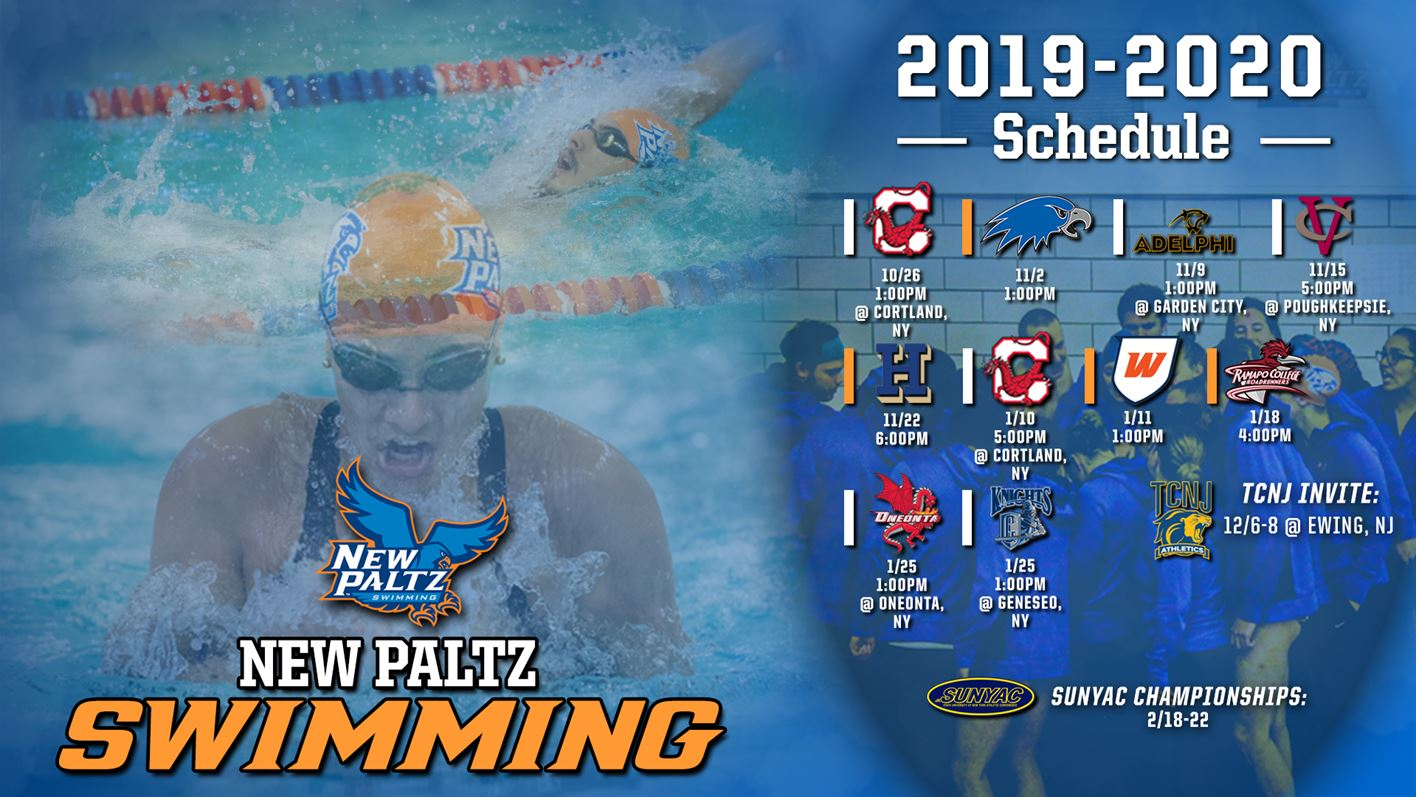 Oneonta Finals Schedule Fall 2020 SUNY New Paltz Swimming Releases 2019 2020 Schedule   SUNY New